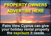 Palm View Cyprus can give your holiday rental property the exposure it needs.